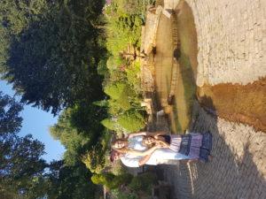zahrady Chalice Well v Glastonbury