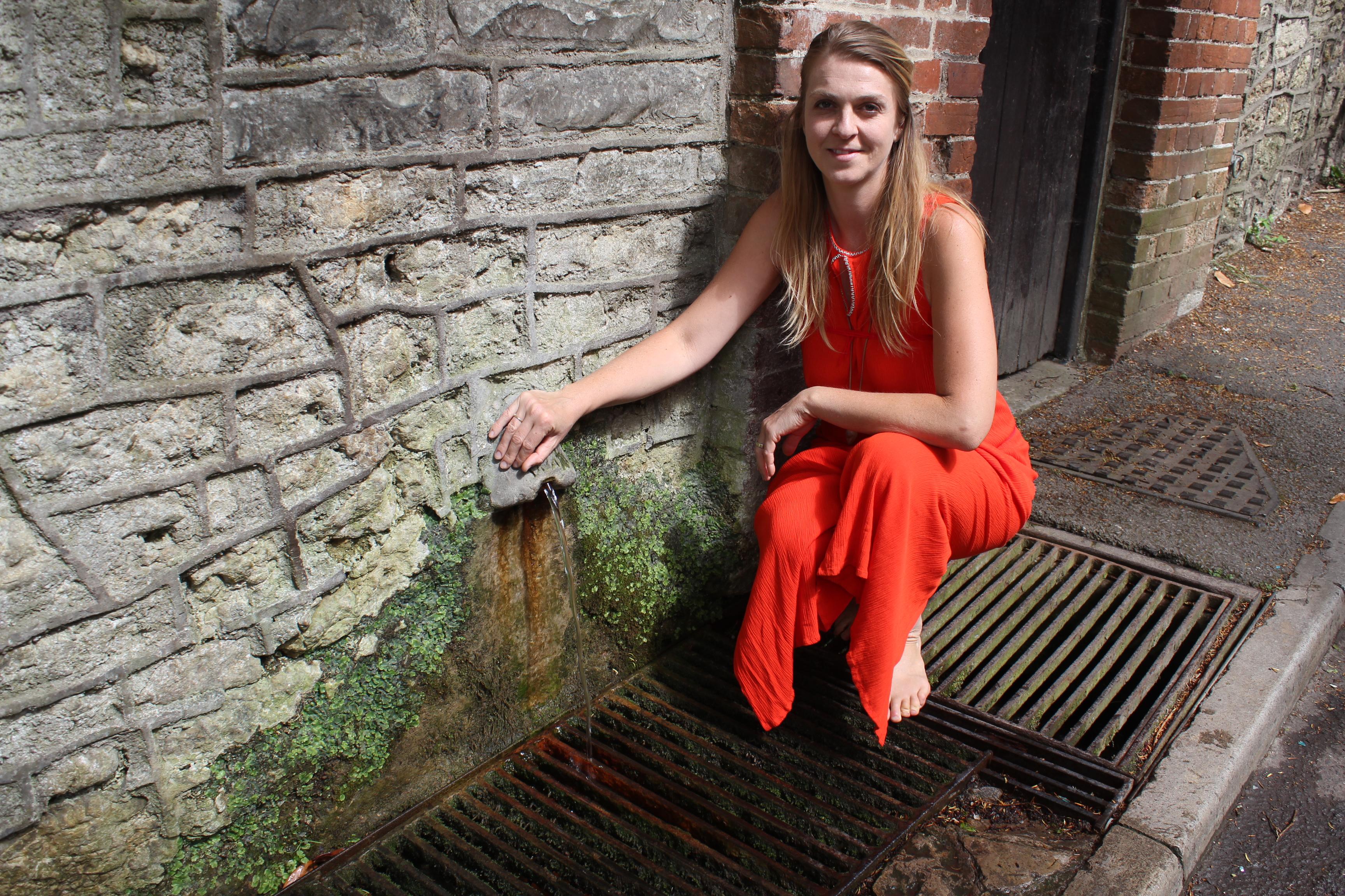Vodní chrám v Chlastenbury